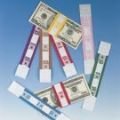 MMF $2000 White Kraft Currency Bands 216070H19 Violet FREE SHIPPING