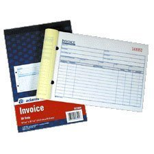 Adams Carbonless Invoice Books DC5840 Qty 2 FREE SHIPPING
