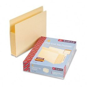 Pendaflex Convertible End Tab File Pockets Letter 12834  FREE SHIPPING