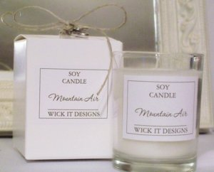 Gift Boxed Soy Candle