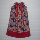 Patroitic 4th of July American Flag Pillowcase Dress