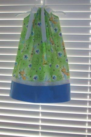 Lime Tinkerbell Pillowcase Dress