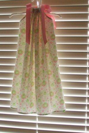 Frog Pillowcase Dress