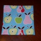 Apples & Pears Reusable Sandwich Snack Bag