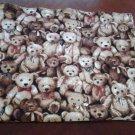 Teddy Bear Reversible Baby Blanket