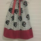 Houston Texans Pillowcase Dress Matching Bow