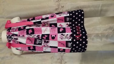 Minnie Mouse Pillowcase Dress w/Monogramming