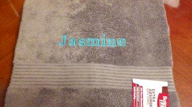 Monogrammed Bath Towel