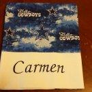 Monogrammed Dallas Cowboys Standard Pillowcase