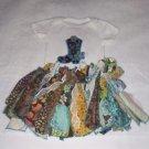 Cowgirl Fabric Tutu Onesie Set