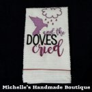 Doves Cried Dish Towel