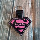 Super Nurse Key Fob