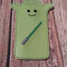 Yoda Popsicle/Freeze Pop Sleeve