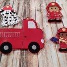 Firemen Finger Puppet Set