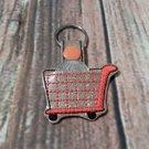 Shopping Cart Quarter Keeper Key Fob