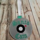 Santa Cam Christmas Ornament