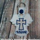 Husband Angel Key Fob