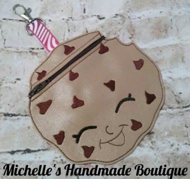 Cookie Vinyl Zipper Pouch