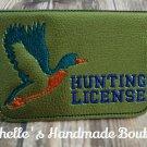 Duck Hunting License Holder
