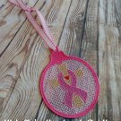 Free Standing Lace Breast Cancer Awareness Ornament