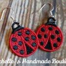 FSL Ladybug Earrings