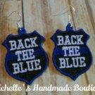 FSL Back The Blue Earrings