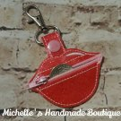 Lips Coin Holder Key Fob