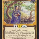 Political Adjunct  (L5R) - Near Mint