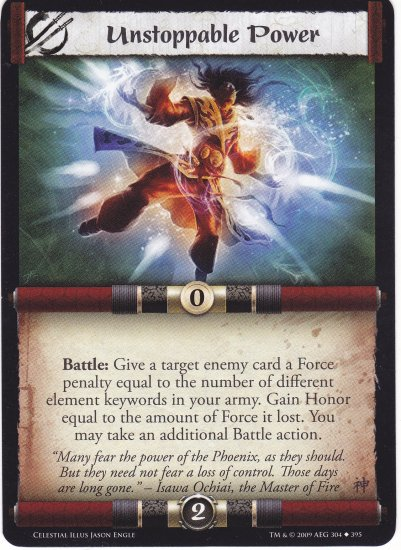 Unstoppable Power (L5R) - Near Mint