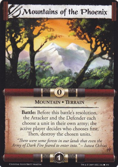 Mountains of the Phoenix  x3 (L5R) - Near Mint