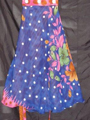 P2603 Preteen/Girls Reversible Sari Wrap Skirt