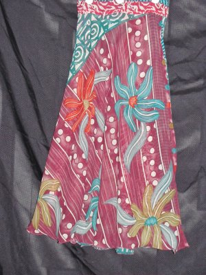 P2610 Preteen/Girls Reversible Sari Wrap Skirt