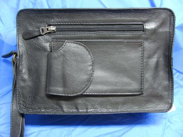 Large Leather Bible Case / Bible Bag