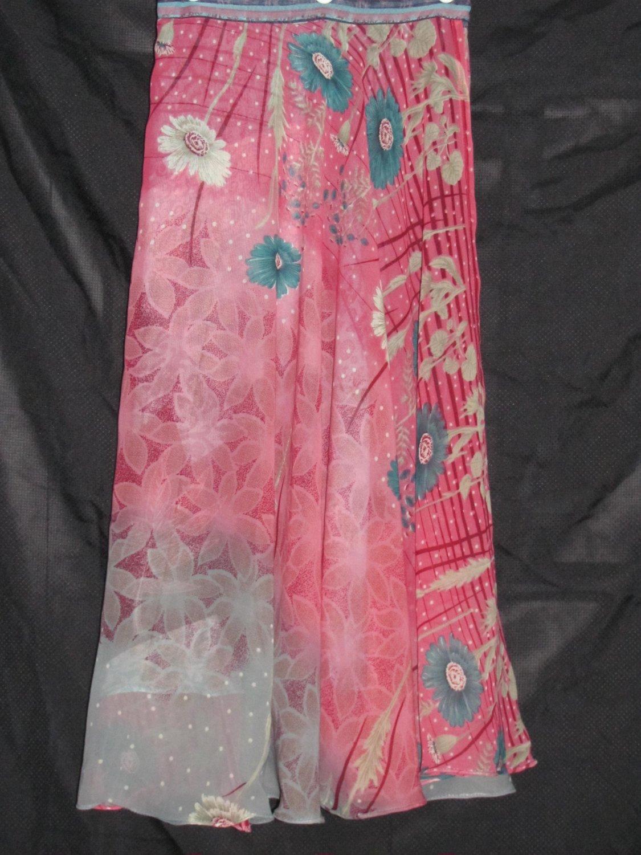 S3425 Small Reversible Sari Wrap Skirt
