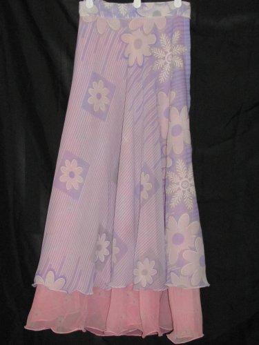 S3604 Small Reversible Sari Wrap Skirt