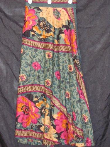 CS3001 Small Cotton Wrap Skirt