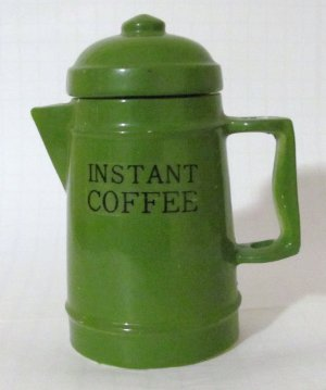 Vintage Coffee Pot  Instant Coffee Canister