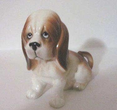 Vintage Bassett Hound Figurine  No. E-4587