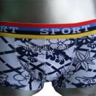 New Men's Sexy Boxer Underwear LowRise B/W #BX147