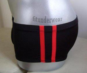 New Men's Sexy Black Stretchy Boxer Underwear Black Low Cut Lingerie #BX05