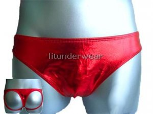 New Men's Sexy G-String Underwear Red Lingerie #GT98