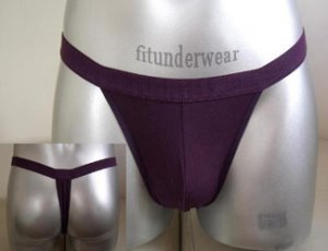 Men's Sexy Thong Purple Thong Underwear S-L #TH34