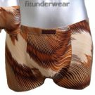 New Men's Sexy Boxer Brief Underwear Image Print Lingerie #BX138