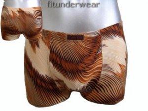 New Men's Sexy Boxer Brief Underwear Image Print Lingerie #BX138