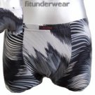 New Men's Sexy Boxer Brief Underwear Image Print Lingerie #BX137