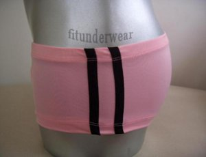 New Men's Sexy Lingerie Stretch Boxer Underwear Pink Lowcut #BX35