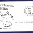 USCGC STATEN ISLAND WAGB-278 DEEP FREEZE 1973 Polar Ship Cover