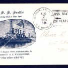 Cruiser USS SEATTLE ACR-11 1934 Naval Cover