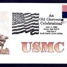 USMC Marine Corps Modern Patriotic Cover MHcachets