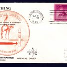 USS WILL ROGERS SSBN-659 Launching DPS #32 Cachet Naval Submarine Cover